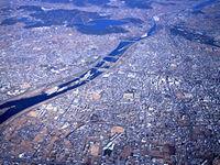 加古川の眺望