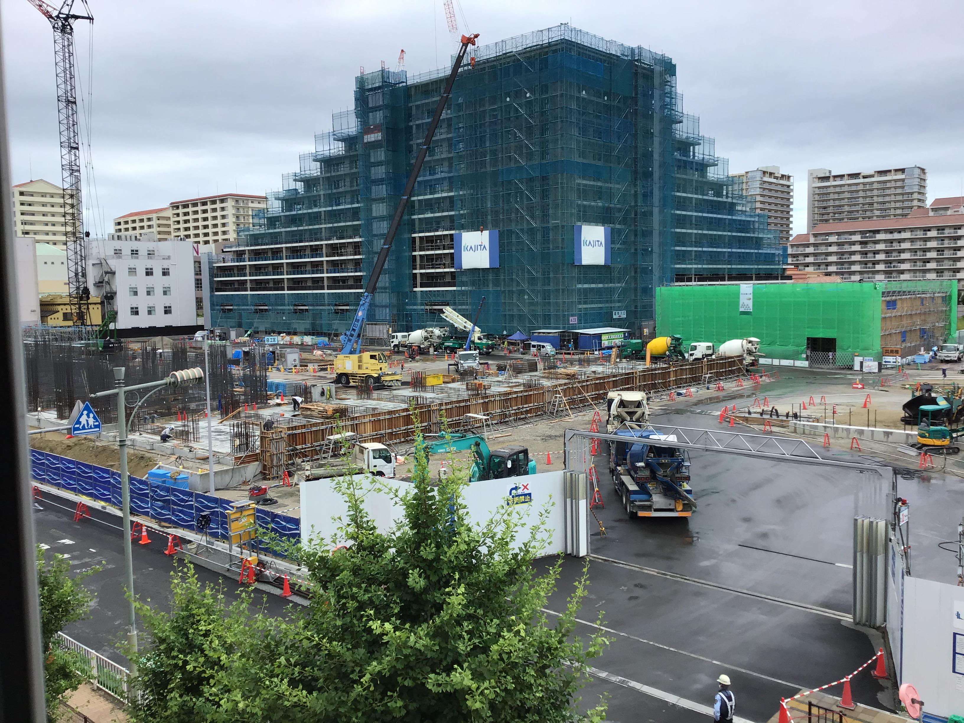 【参考】小学校周辺は、マンション群・商業施設・新興住宅街があり、今もJT跡地の再開発中。直ぐ西500mに皿池が。みんな、守ろうね。