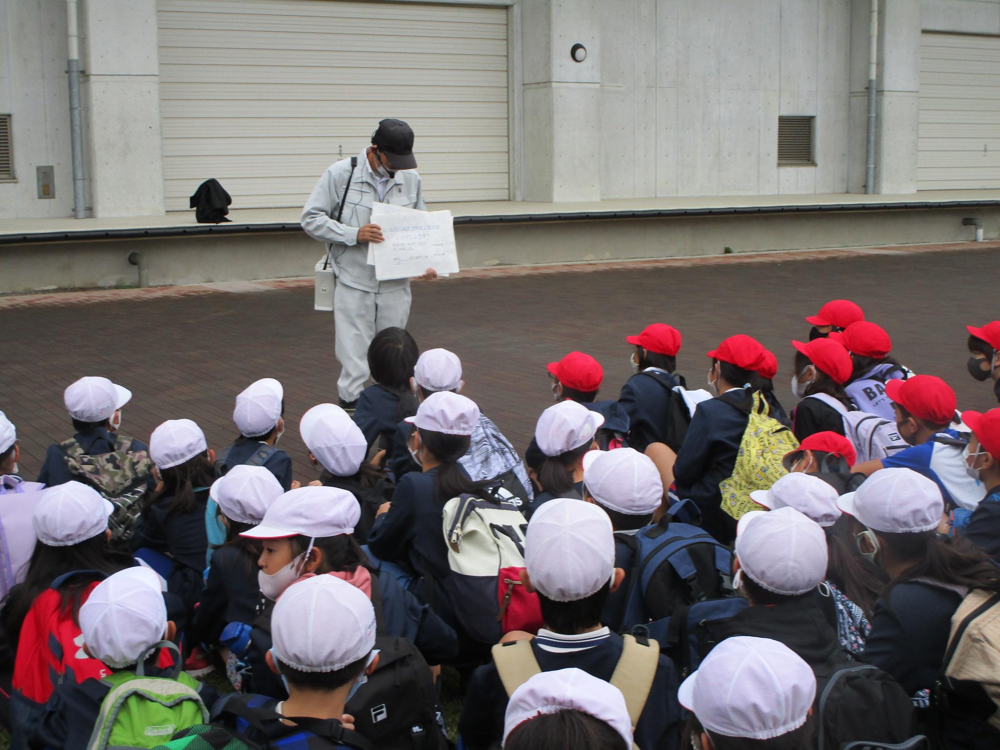 令和2年10月23日 淡山疏水現地見学会 【広野小学校】