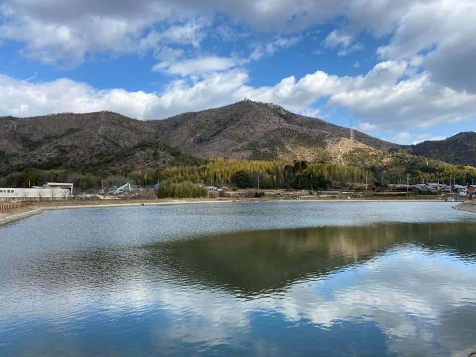 阿弥陀ため池発掘ウォーキング